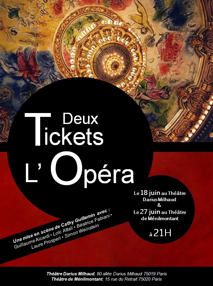Deux tickets pour l'opera