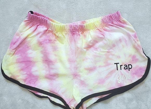 """Trap Girl"" pink lemonade shorts"