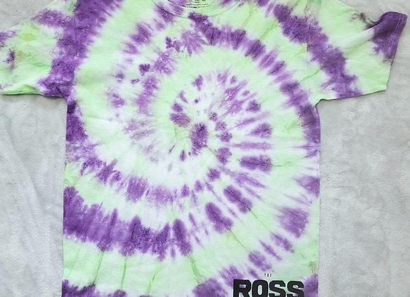 Slime/purple swirl tee (Youth XL)