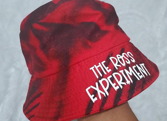 Red laser bucket hat