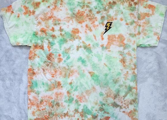 Orange/Green tee (med)
