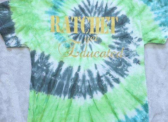 """Ratchet yet Educated"" tee"