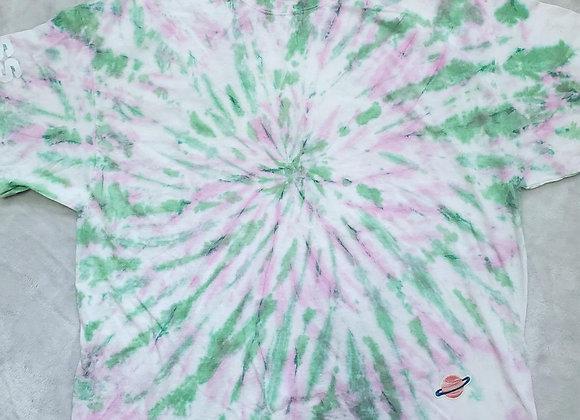 Pink/green swirl (3XL)