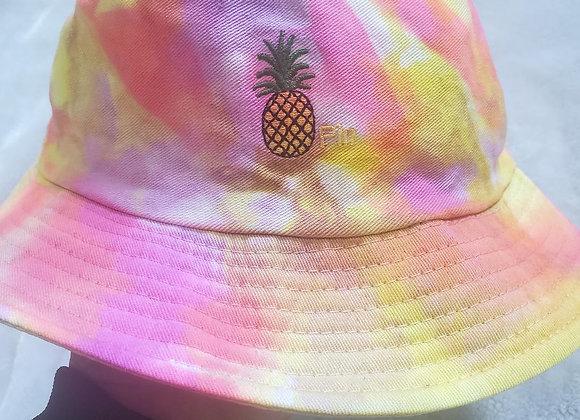 Neon Pineapple bucket hat