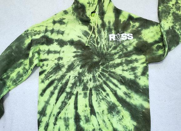Reverse slime hoodie (large)