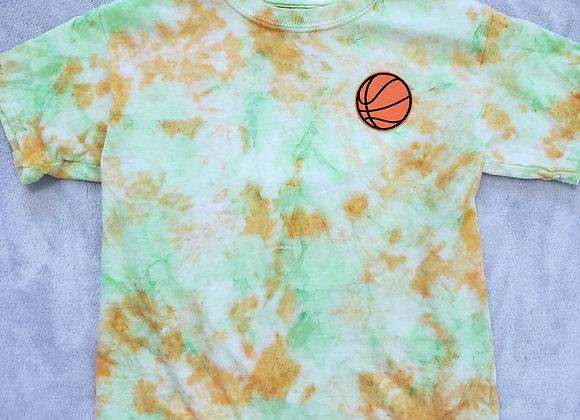 Basketball tee (youth small)