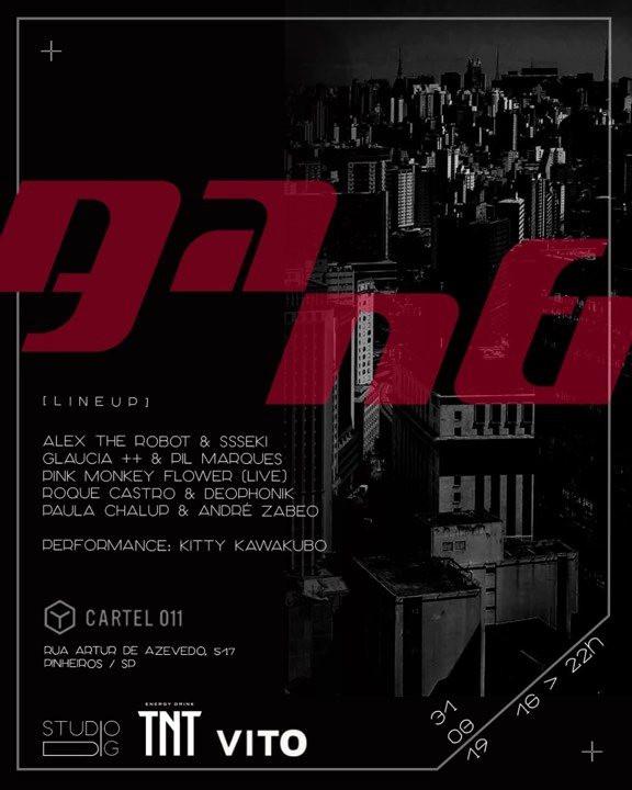 PMF Live na Festa GANG na Cartel 011 em SP  31/8