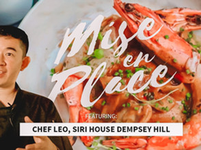 Mise En Place - Siri House @ Dempsey