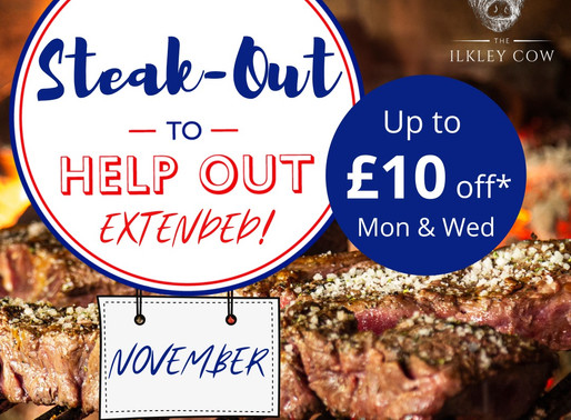 Steak-out to help out, November!