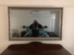 mirrored TV