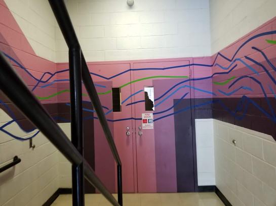 Tape Mural 11