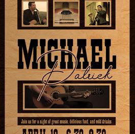Michael Patrick Poster