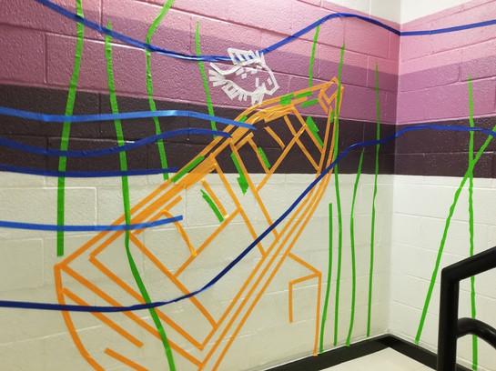 Tape Mural 3