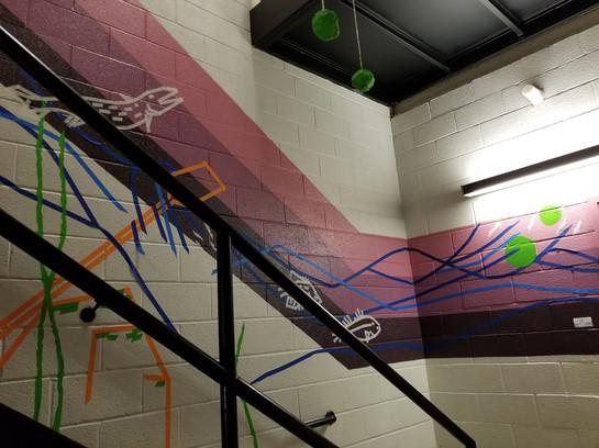 Tape Mural 5