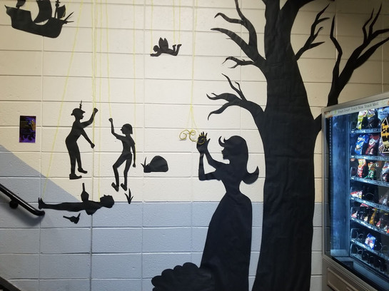 The Tempest Mural 1