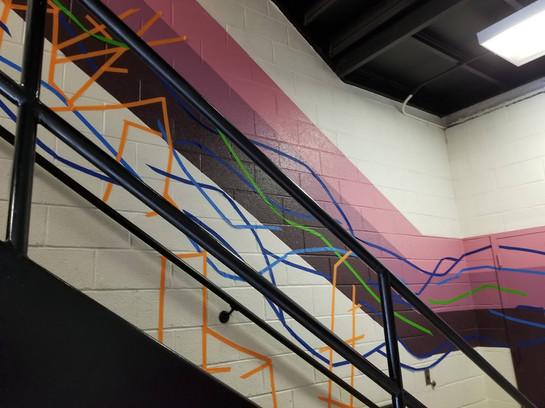 Tape Mural 10