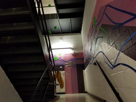 Tape Mural 7