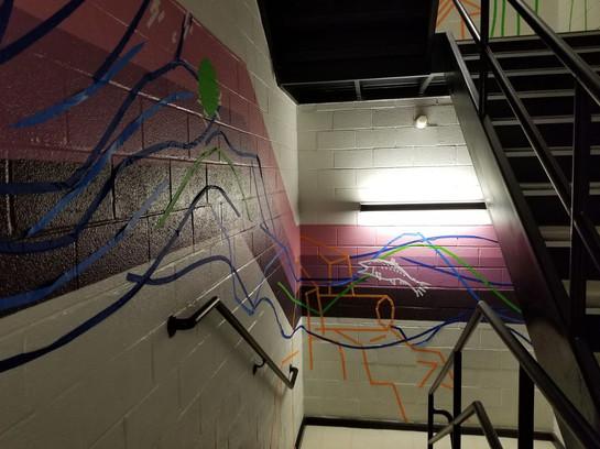 Tape Mural 8