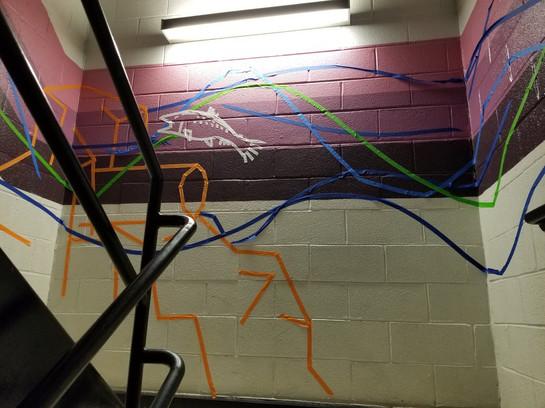 Tape Mural 9