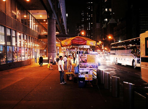 Port Authority Street Cart  (11x14)
