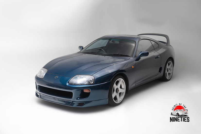 1994 Toyota Supra Baltic Blue