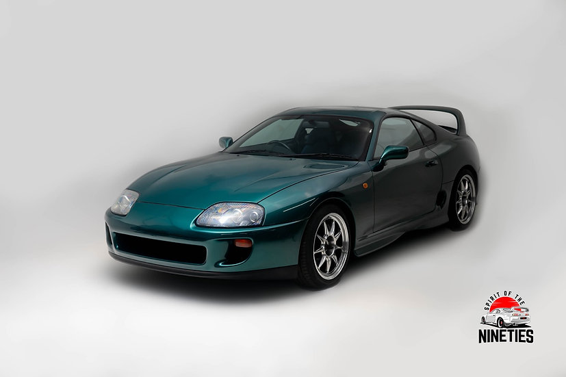 1995 Toyota Supra SZ-R Deep Jewel Green