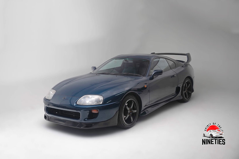 1993 Toyota Supra SZ Baltic Blue