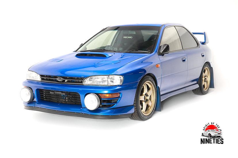 1993 Subaru Impreza WRX 330 WHP