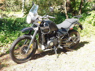 Royal Enfield Himalayan - A long-term project bike