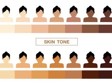Words used to describe skin color