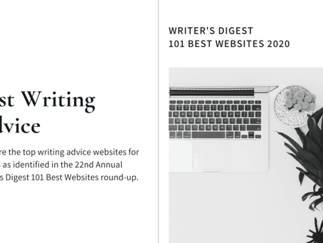 Writer's Digest Best Writing Advice Websites 2020
