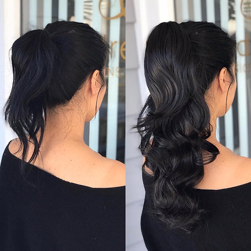 Quality Ponytail with String & Pin