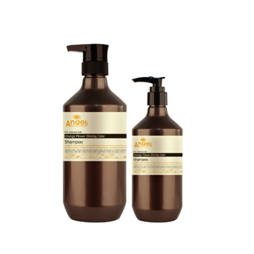Angel Orange Flower Shining Colour Shampoo 400ml & 800ml