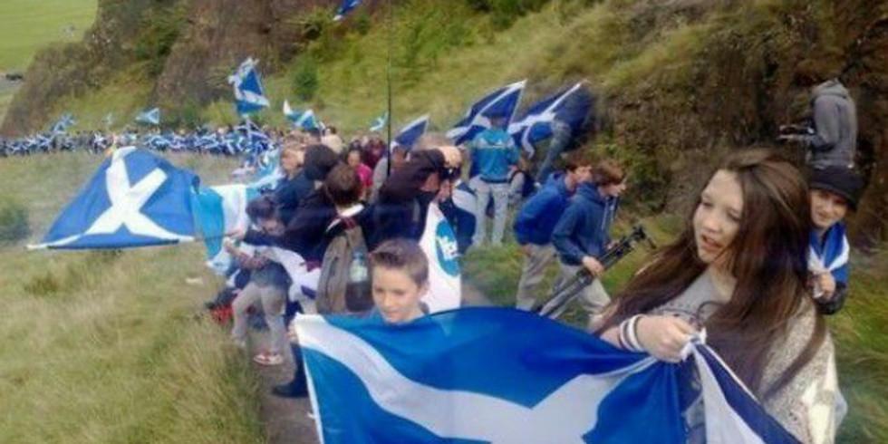Scots Flag event