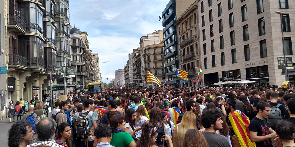 From Glasgow to Barcelona: March with Catalonia