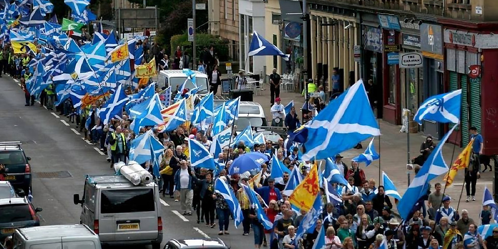 March for Independence- Glasgow