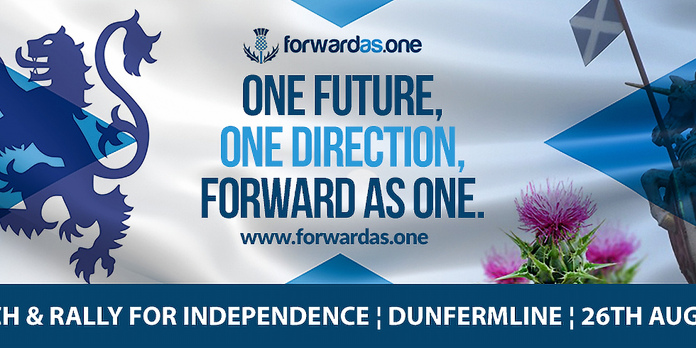 Forward as One - March and Rally - Dunfermline