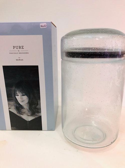 Pascale Naesens Pure -Exclusieve en kwalitatieve glazen bewaarbokaal