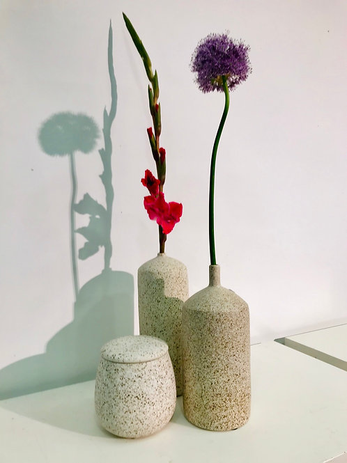 Set DM Depot Vazen en bewaarpot inclusief snijbloemen