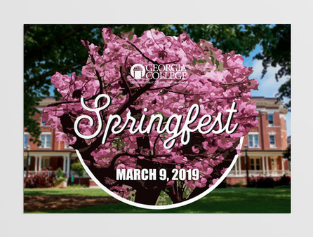 Springfest 2019 Postcard