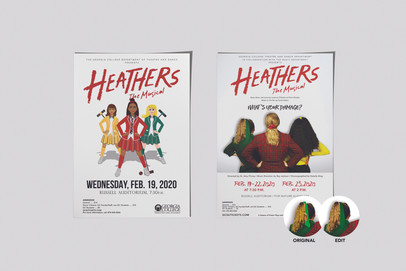 Heathers Musical Promotion