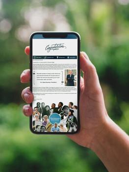 Congrats Email Mockup - iPhone