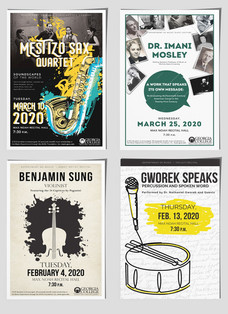 Music Promotion Posters
