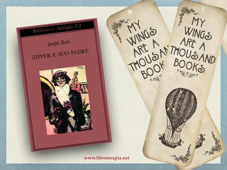 """Segna-Libri: """"Zipper e suo padre"""""""