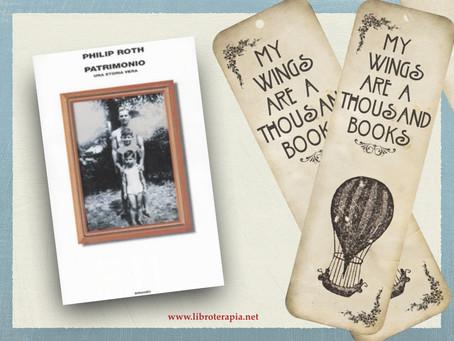 """Segna-libri: """"Patrimonio"""""""