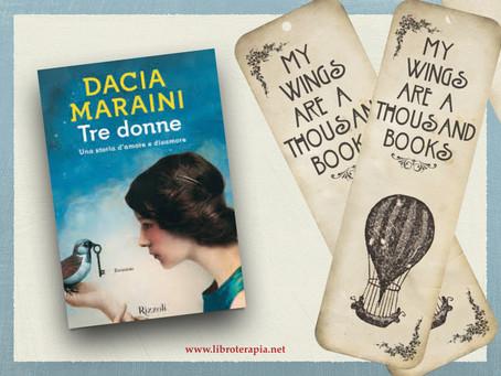 """Segna-Libri: """"Tre donne"""""""