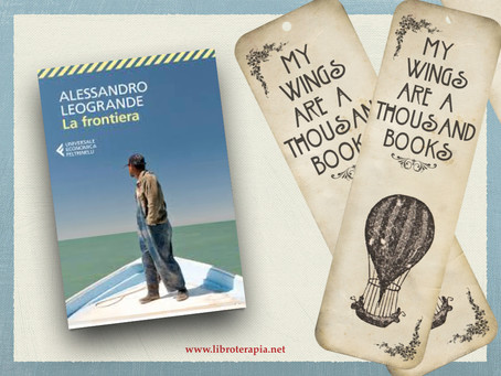 """Segna-libri: """"La frontiera"""""""