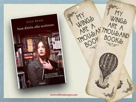 """Segna-Libri: """"Non ditelo allo scrittore"""""""