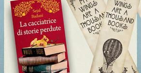 """Segna-Libri: """"La cacciatrice di storie perdute"""""""