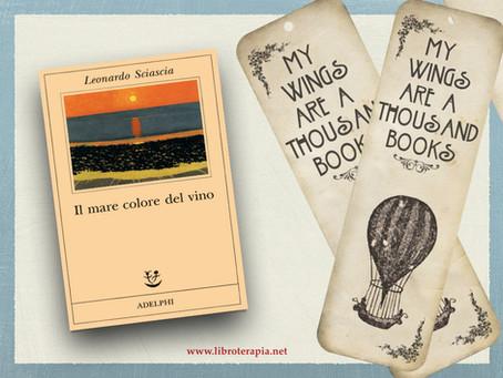 """Segna-libri: """"Il mare colore del vino"""""""
